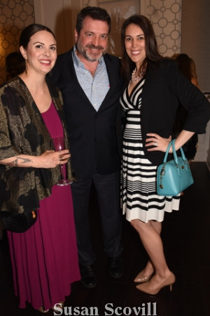12. Heather Vellner and Bill and Jen O'Donnell.