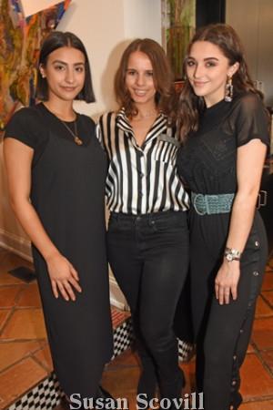 10. Zara Barrett, Caroline Kingscott and Kate Pashayanni.