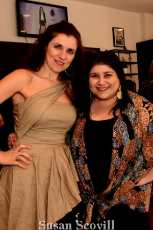 13. Tania Spensierato and Jennifer Robinson.