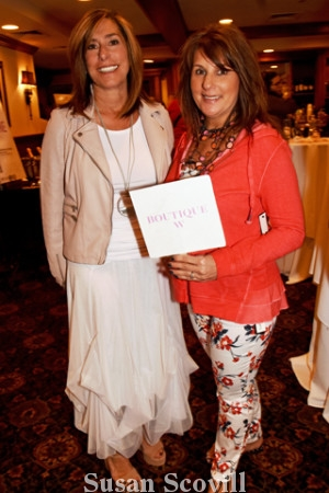 11. Mary Ann Fleming and Jenny Lyons represented Boutique W.