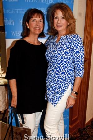 2. Sally Hudson and Pam Rockacy.