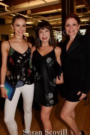 6. Lillian Crocker and her mother Jenni Crocker and Cindy Hazelton.