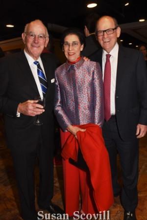 12. Steve Kozen and Jeanette and Joe Neubauer.