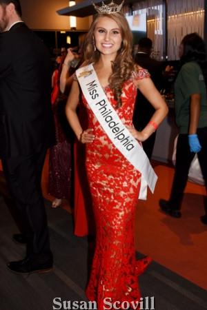2. Alyssa Bainbridge - Miss Philadelphia.