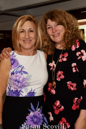 2. Volunteer co-chair Kate Frey and Jane Parnell.