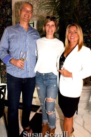 4. Chris Evans and, Karen Tropea toured the house with Kristen Slaoui.