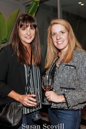 10. Katie Guzinski and Joyce Polsenberg Cremin attended the event.