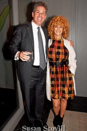 6. Larry Korman welcomed Philadelphia's Film industry's founder Sharon Pinkenson to the unveiling event.