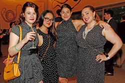 Barnes Foundation's Young Professionals Night had a playful 'Spot On' theme!