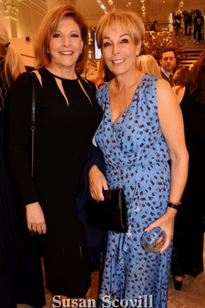 3. Stephanie Stahl of CBS-3 served at the event's emcee. Stephanie chatted with Betsy Rubenstone during the event.