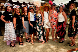 "The Devon Horse Show and Country Fair was transformed into ""The Enchanted Garden""  for the annual Ladies Day"