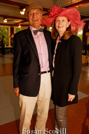 15. George Breslin and Maureen Carver enjoyed their first Kentucky Derby party at West Laurel Hill.