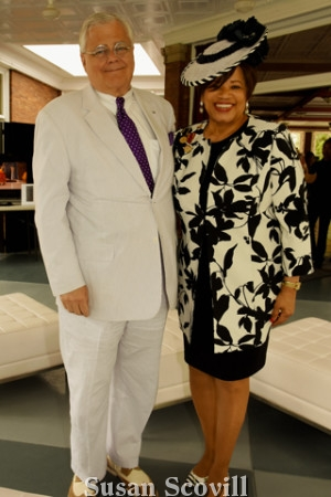6. David and Pat Nogar brought their fashionable flair to the event!