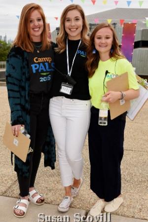 12. Hannah Cunliffe, Kelly Kitchen and Morgan Heckel.