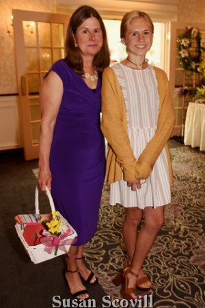 7. Edith Mochnaly brought her daughter Kerrie to the luncheon.
