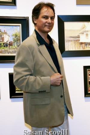 11. Phil Graham toured the exhibit.