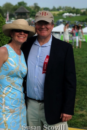 17. Sarah Clsytor and her husband Dr. Brennan Claytor attended the Radnor Hunt Races.Dr. Claytor served as a race sponsor.