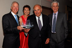 Avenue of the Arts Inc. present first visionary awards to Ed Rendell and Carl Dranoff
