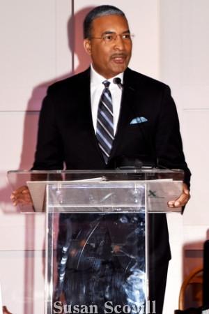 20. Emcee Ukee Washington of CBS 3 introduced the honorees.