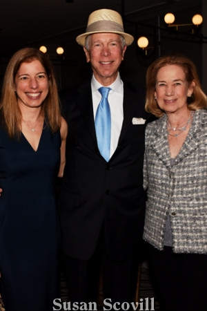21. Julius Gutstadt exited the event with her parents Carl and Roberta Dranoff.
