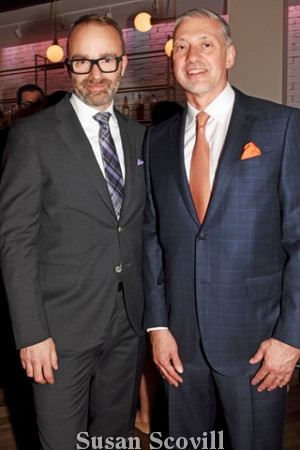 9. David Devan of OperaPhiladelphia and Friends of the Avenue of the Arts board member Timothy Moir.