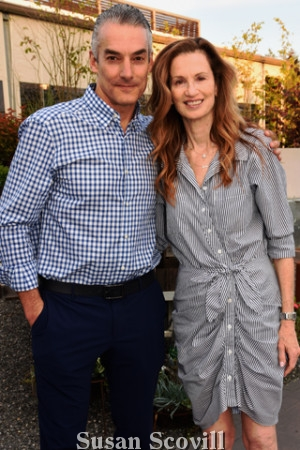 8. Marc and Amy Brownstein attended the event.