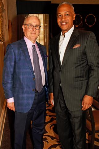 9. William Lloyd of Moravian Street Advisors and Sherman Smith of Buchanan Ingersoll & Rooney enjoyed the luncheon.