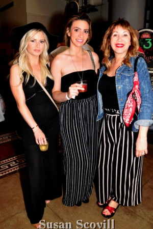13. Stephanie Algayer, Lisa Cicotta and Licha McLennan attended the event.
