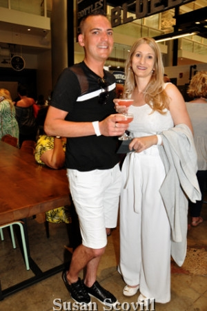 4. Rob Hannigan and Cynthia Maoi.