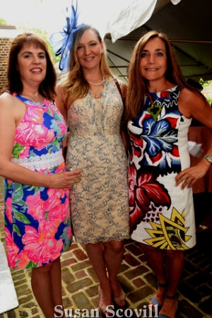 11. Anne Flood, Allaire Moran and Pam Northrup.