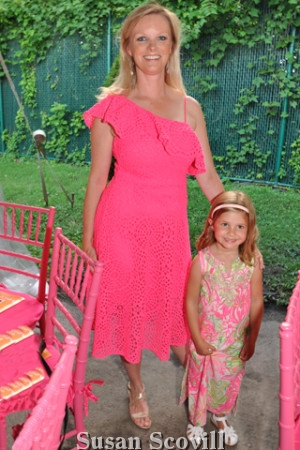 13. Alison Young brought her daughter Zoe Maser to the event.
