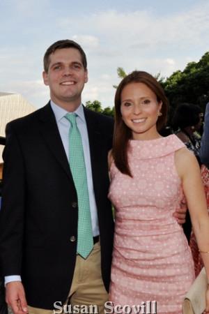 5. Dave Hoskins and Rebecca Morley.