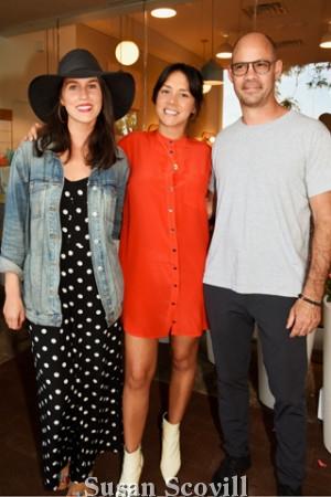5. Lauren Niles, Antoinette Johnson and Erik Oberholtzer