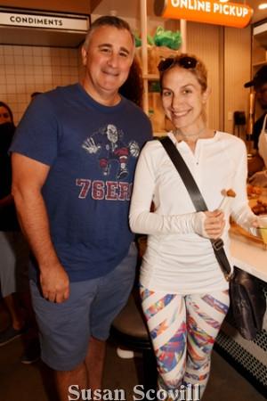 7. Art Stern and Rachel Weiner.