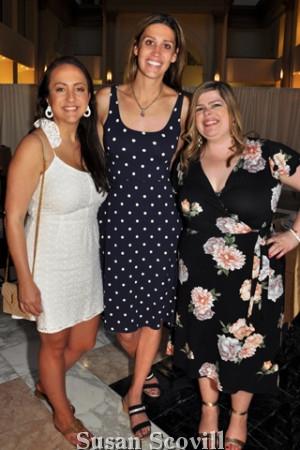 14. Tina Lamsback, Sarah Zaun and Angela Giannetti.