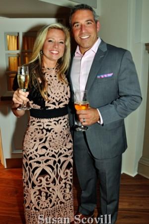 4. Sarah DiCicco and Nick Desiderio.