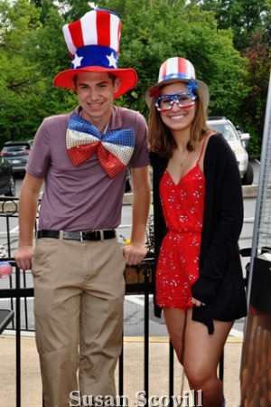14. Jacob Rivers and Orianna Lucci were dressed for the occasion!