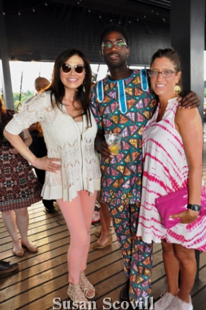 16. Lucy Noland chattted with Gabriel Nyantakyg and Stephanie Sena