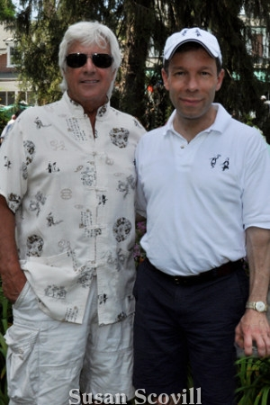 11. Ron Giordano chatted with , Louis Scaglione.