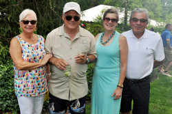 Frank and Dottie Giordano host their popular Pig Roast & Barbecue!