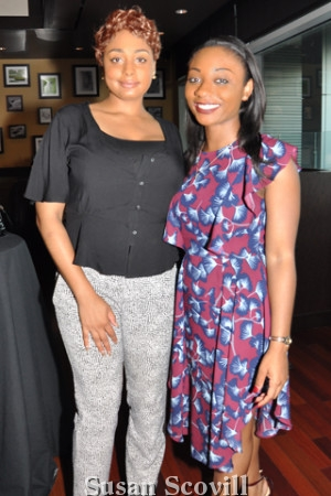 4. Falema Bruton and Teresa Lundy attended the networking event.