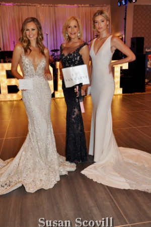 5. Van Cleve Weddings put on a gorgeous bridal fashion show, Cheyenne Forbes, Sandra Yodesky and Sophia Santiago walked the runway in these beautiful gowns.