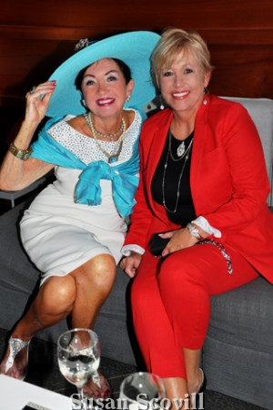 20. Marie Campanile attended the event with her daughter Marlene Graveley.