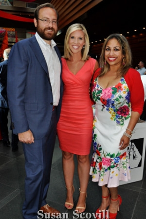 24. Ben Cross, Rosemary Connors of NBC10, and Thanuja Hamilton M.D.