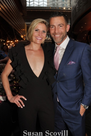 30. Newly-engaged couple Jackie Herb and Scott Martin enjoyed the event.