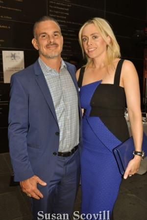 5. Daniel Edrei and Andrea Desy Edrei attended the event.