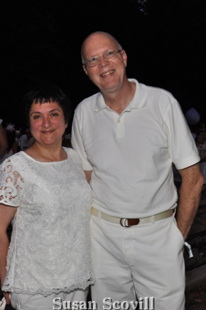 10. Sarah and Michael Cloughley attended the event.