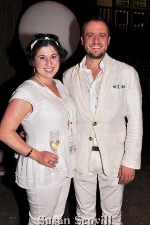 15. Sarah and Joe Maillano had fun at the event,