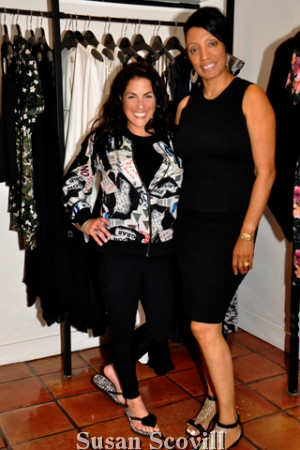 4. Manayunk store manager Samantha Sciolla paused for a photo with Bellevue store manager Sabrina Pray.