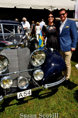 12. Lauren Jendrasiak and Ted Dougherty liked the looks of this 1938:Mercedes!